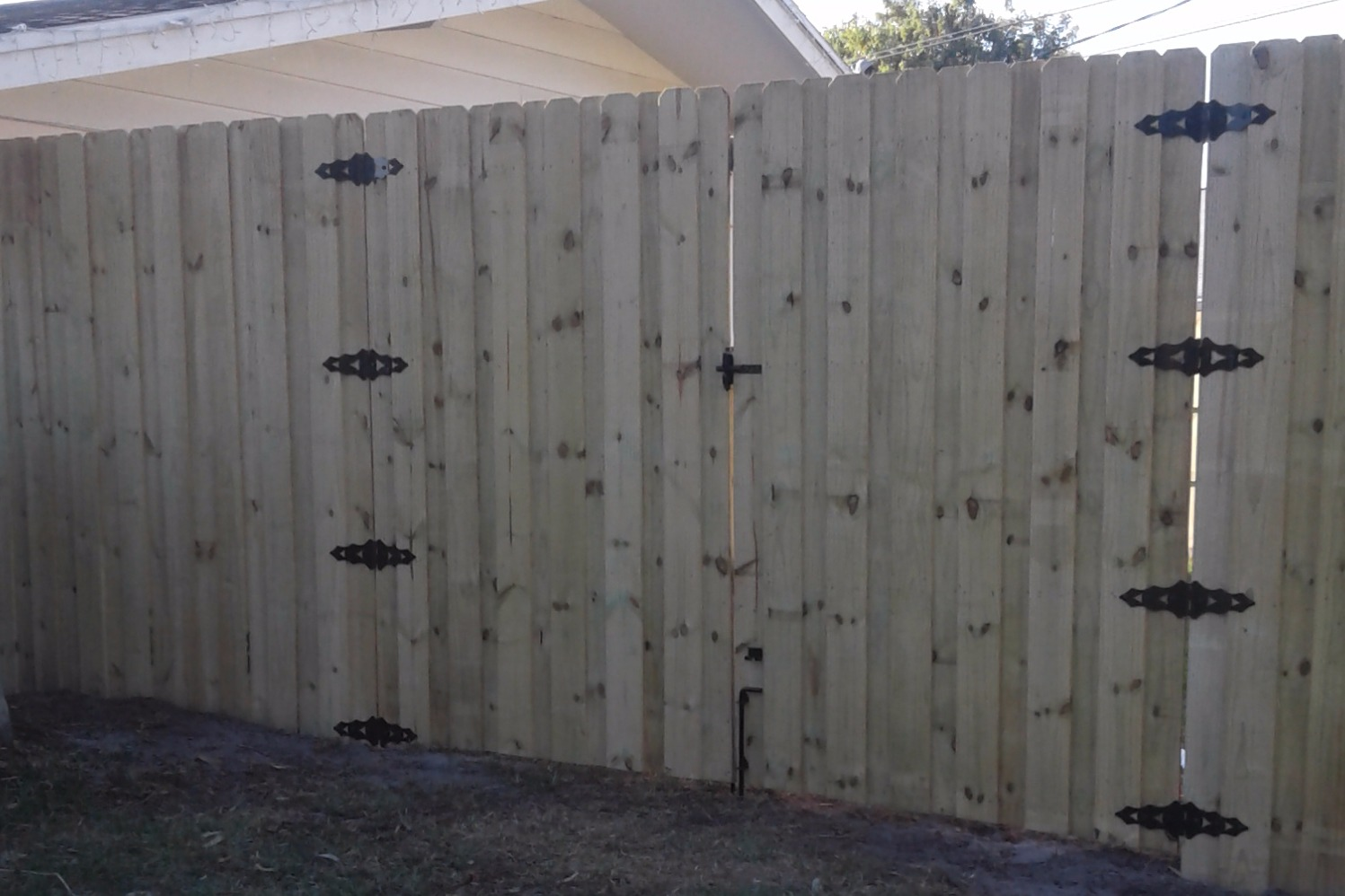 Wood fencing bradenton fl variety fence llc our wood fences are built to suit our customers needs whether they be as simple as enhancing your yard or giving you and your neighbors the privacy we all baanklon Images